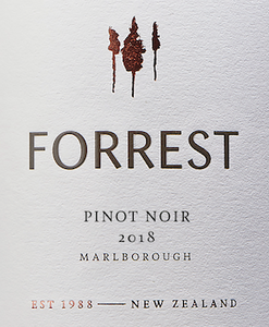 PINOT NOIR, Forrest Estate, Marlborough, New Zealand
