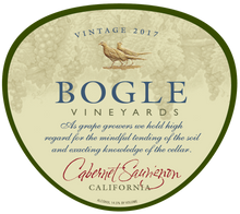 Load image into Gallery viewer, CABERNET SAUVIGNON, Bogle Vineyards, California, U.S.A.