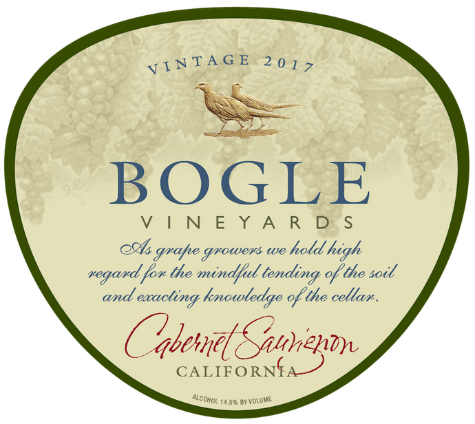 CABERNET SAUVIGNON, Bogle Vineyards, California, U.S.A.