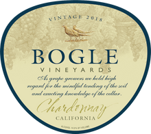 Load image into Gallery viewer, CHARDONNAY, Bogle Vineyards, Clarksburg, California, U.S.A.