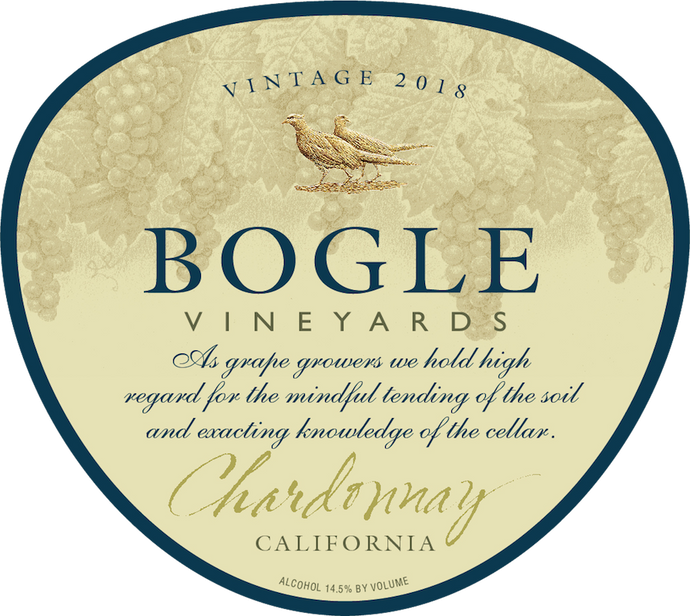 CHARDONNAY, Bogle Vineyards, Clarksburg, California, U.S.A.
