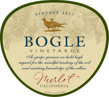 Load image into Gallery viewer, MERLOT, Bogle Vineyards, California, U.S.A.