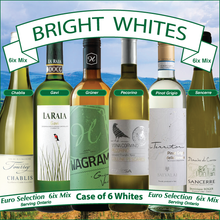 Load image into Gallery viewer, The Bright Whites Euro Selection 6ix MIx