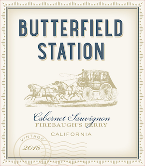 CABERNET SAUVIGNON, Butterfield Station, California, U.S.A.