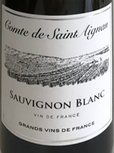 Load image into Gallery viewer, SAUVIGNON BLANC, Comte de Saint Aignan, Loire Valley, France