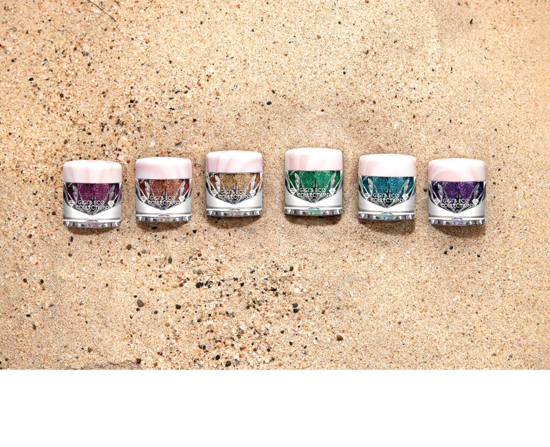 Biodegradable Glitter in Sand - Gigi's Eco Collection