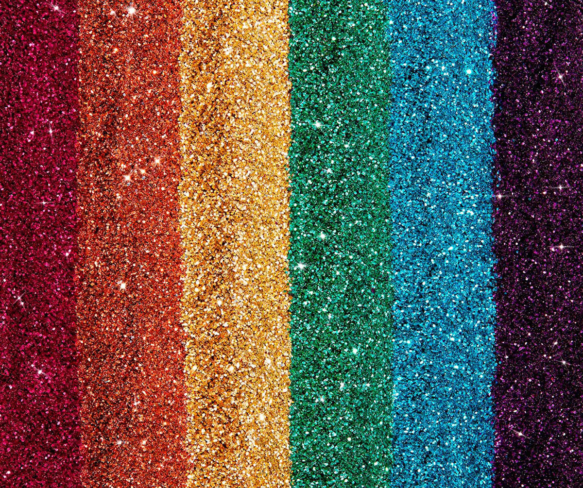 Rainbow Biodegradable Glitter