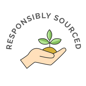 Responsibly Sourced Hand Holding Soil - Gigi's Eco Collection