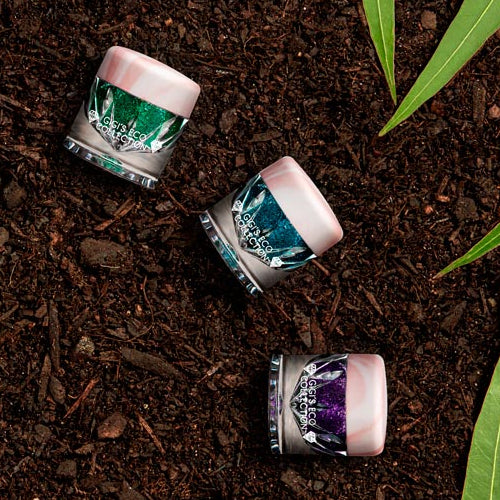 Biodegradable Glitter in Soil - Gigi's Eco Collection