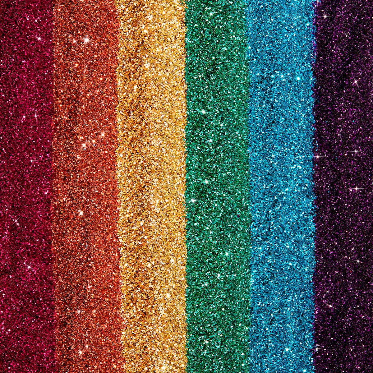 Rainbow Biodegradable Glitter - Gigi's Eco Collection