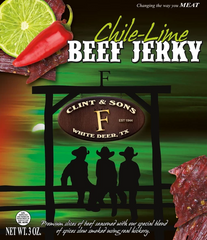 Chile Lime Beef Jerky