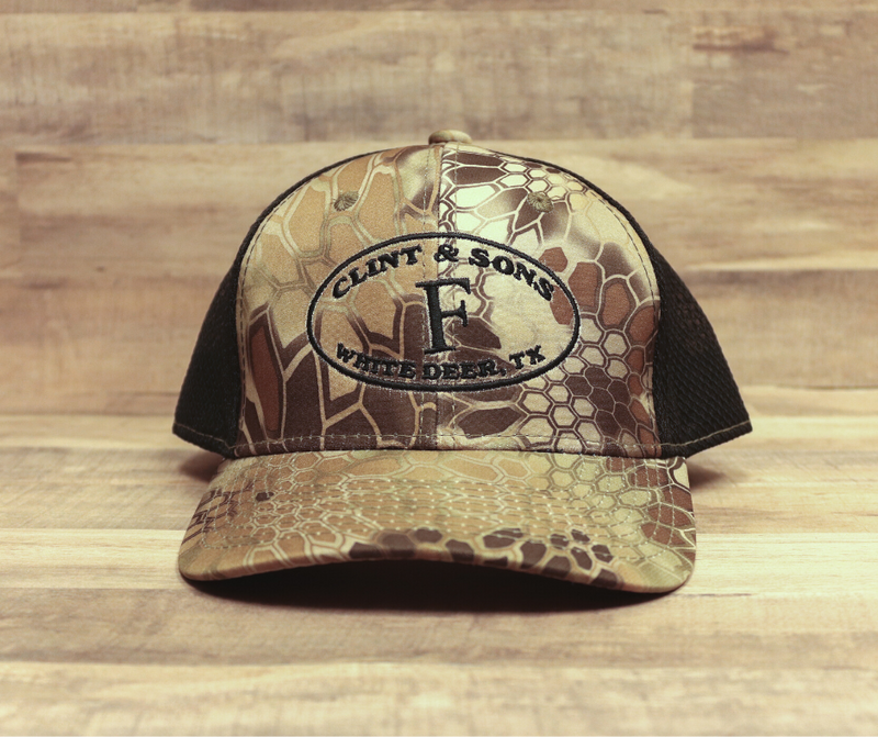 Kryptek/Black Mesh Structured Hat