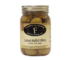 Lemon Stuffed Olives