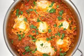 Shakshuka With Halloumi