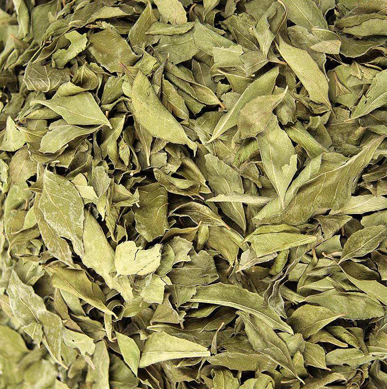 The fresh leaves are an indispensable part of Indian cuisine and Indian traditional medicines. They are most widely used in southern and west coast Indian cooking, usually fried along with vegetable oil, mustard seeds and chopped onions in the first stage of the preparation.