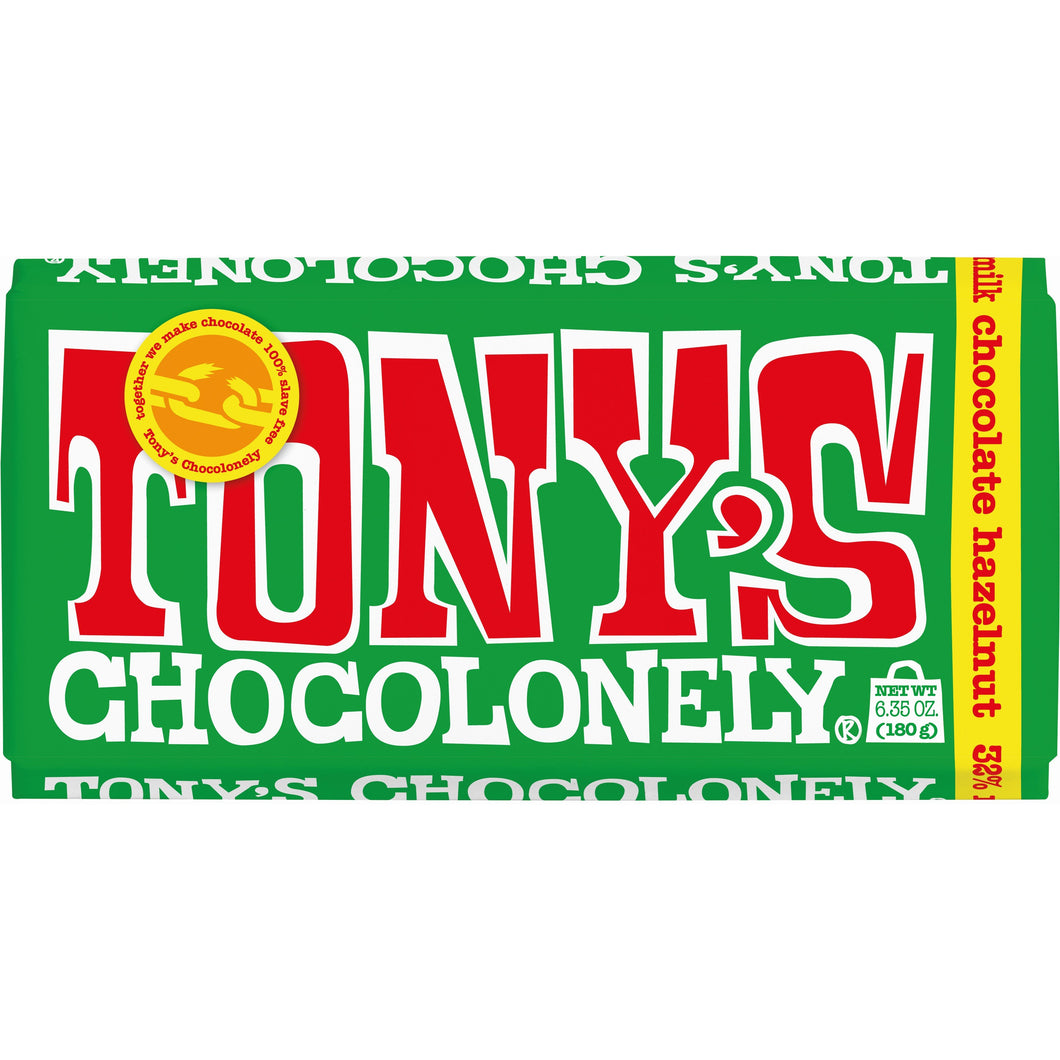 Tony's Milk Hazlenut Chocolonely 180g