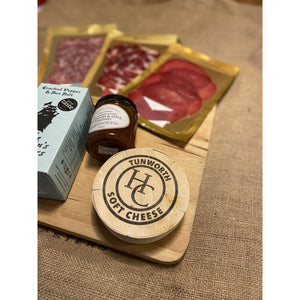 Nourished Communities British Cheese & Charcuterie Hamper