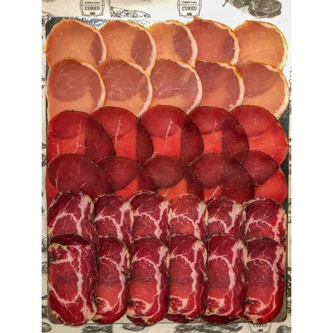 Mixed Salami Selection, Cobble Lane Cured 180g