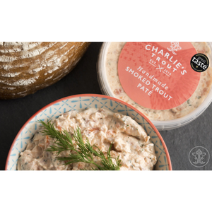 Handmade Smoked Trout Pate: Charlie's Trout