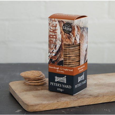 Sourdough Crisp Bread Peter's Yard (105g)