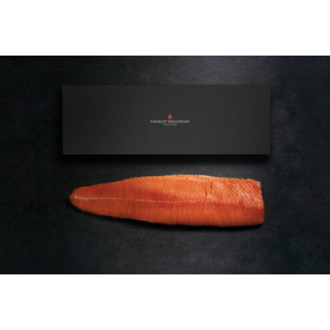 Sliced Whole Side of Salmon: 1.2kg Sashimi Grade Salmon