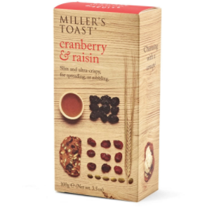 Cranberry & Raisin: Millers Toast