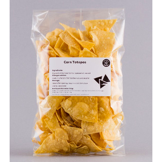 Corn Totopos (Tortilla Chips) 200g