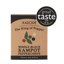 Load image into Gallery viewer, Kadode Kampot Pepper - Whole Black Pepper 40g