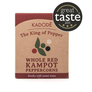 Kadode Kampot Pepper - Whole Red Pepper 40g