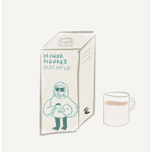 Load image into Gallery viewer, Minor Figures Oat Milk 1 Litre