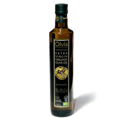 Olvia Organic Extra Virgin Olive Oil 500ml Isle of Olive