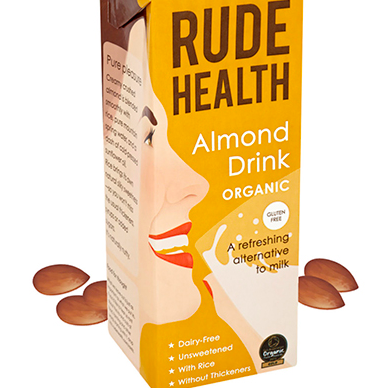 Organic Almond Milk: Rude Health