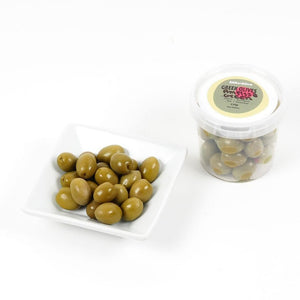 Organic Green Amfissa Olives 250g Isle of Olive