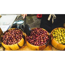 Load image into Gallery viewer, Organic Green Amfissa Olives 250g Isle of Olive