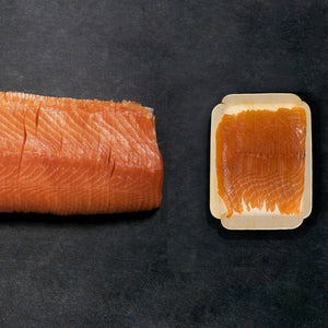 Smokin' Brothers: Sliced Salmon Belly 200g