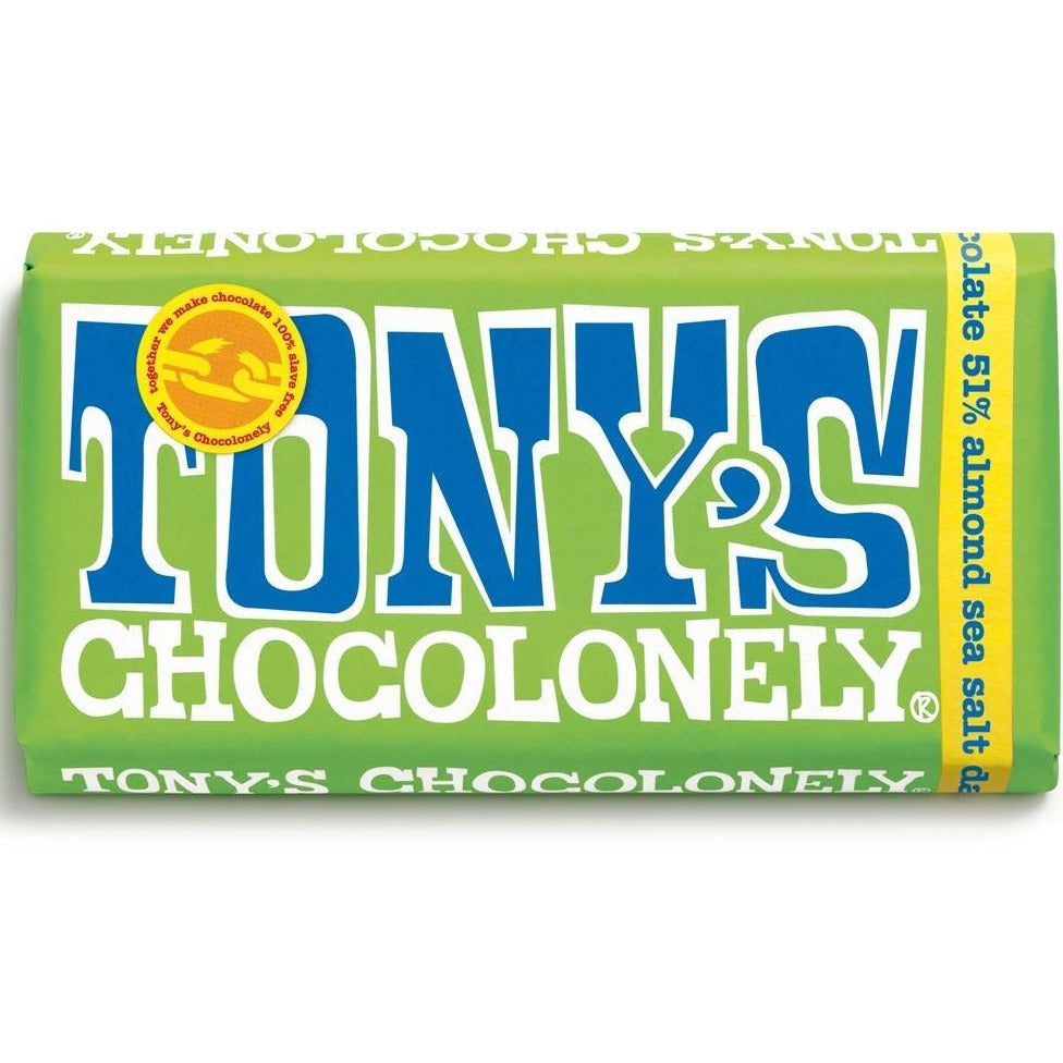 Tony's Almonds & Sea Salt Dark Chocolate