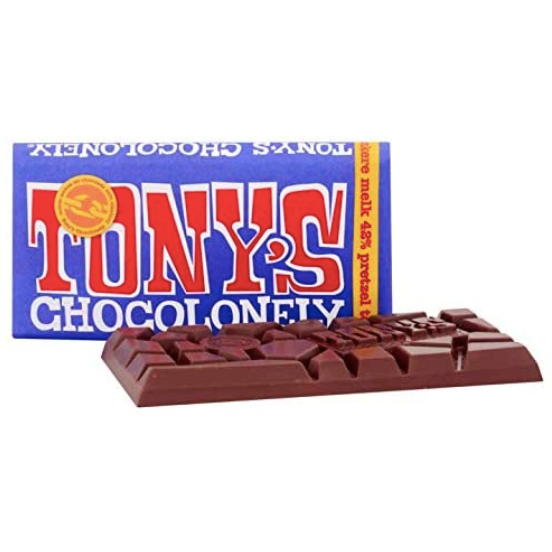 Tony's Chocolonely Dark Milk Chocolate Pretzel Toffee