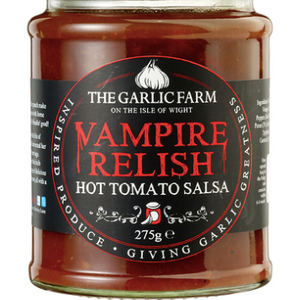 Vampire Relish: Hot Tomato Salsa