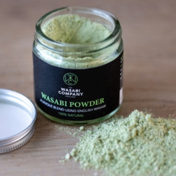Wasabi Powder: Grown in Dorset