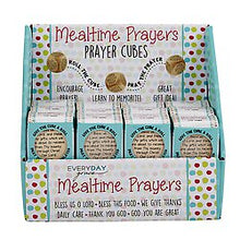 Load image into Gallery viewer, Prayer Cube - Mealtime Prayers