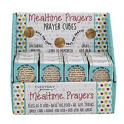 Prayer Cube - Mealtime Prayers