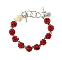 Load image into Gallery viewer, Bracelet - Rose Rosary