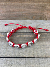 Load image into Gallery viewer, Confirmation Slip Knot Bracelet
