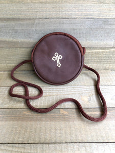 Leather Rosary or Burse