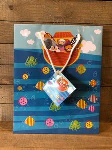 Gift Bag - Noah's Ark/ Large