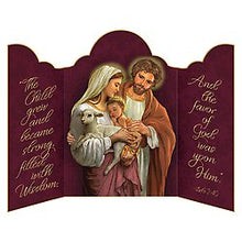 Load image into Gallery viewer, Card * Triptych Holy Family