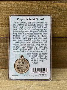 Healing Saint Prayer Card - Saint Gerard