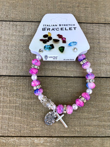 Children's Bracelet - Cotton Candy