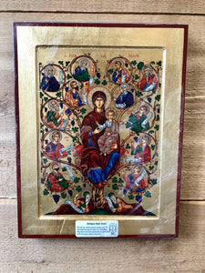Greek Icon * Mary Tree of Life