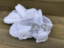 Load image into Gallery viewer, Baptism Baby Girl Shoes